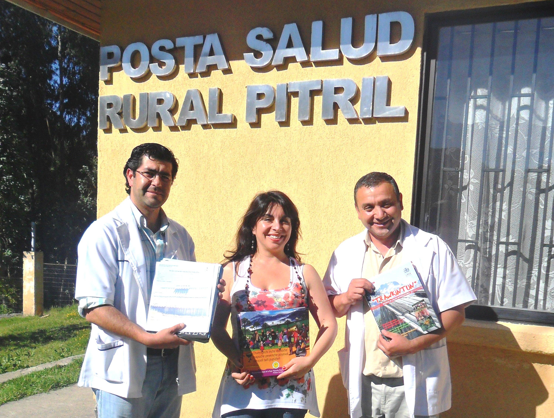 Alumnos de Enfermería visitan Alto Bio Bio, Ralco y Santa Bárbara