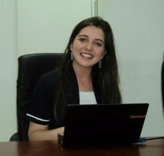 Erika Vidaurre. Egresada Enfermería UDD