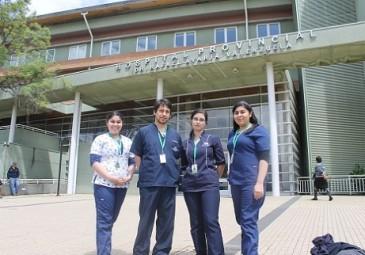 Alumnos finalizan internados clínicos asistenciales