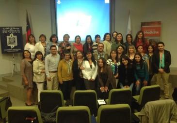 Enfermería UDD participa en Jornada del Colegio de Enfermeras Concepción