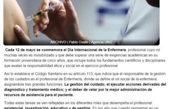 Día de la Enfermería: ¿Cuál es el verdadero rol de este profesional en la comunidad?
