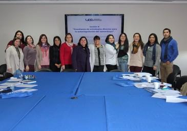 Enfermería UDD participa en taller de aprendizaje
