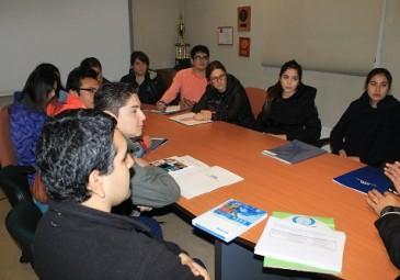 Internos parten práctica profesional en Hospital de Curanilahue