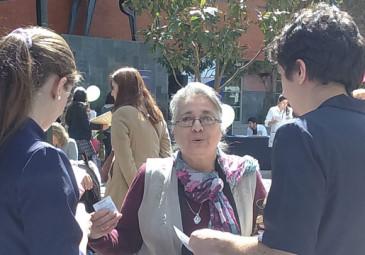 Enfermería UDD participa en Feria de prevención en Los Ángeles