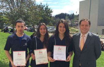 Alumnos se destacan en Congreso de Bioética