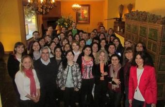 Docentes de Santiago y Concepción se reunieron en exitosa Jornada de Autoevaluación de Enfermería