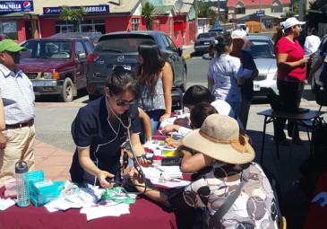 Internos participan en Operativo en Caleta Lenga
