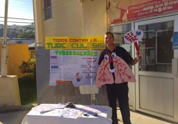 Interno participó en el Día de la Tuberculosis