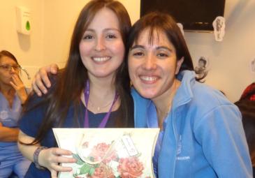 Conoce a nuestros egresados: Leticia Bravo en el Hospital Clínico de la …