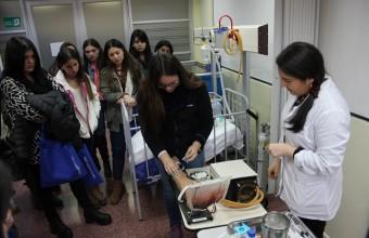 Enfermería organiza entretenido Taller de Admisión