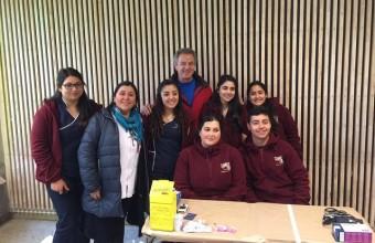 Carreras de la salud se destacan en voluntariado Sonríe UDD