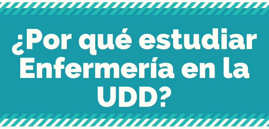 ¿Por qué estudiar Enfermería en la UDD?