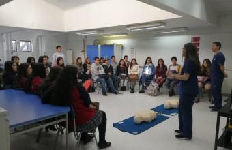 Facultad de Ciencias de la Salud reúne a estudiantes en Taller Vocacional