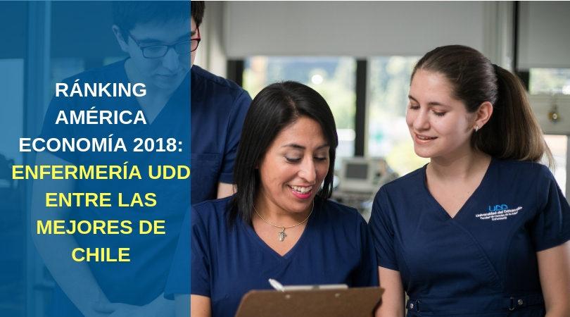 Ranking América Economía destaca a Enfermería UDD entre las mejores del país
