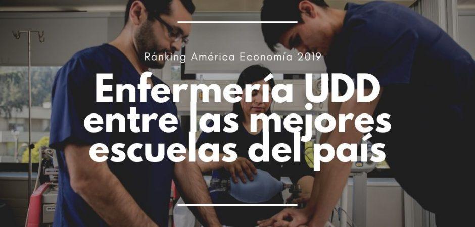 Ránking América Economía destaca a Enfermería UDD entre las mejores del país
