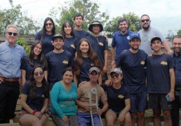 Alumnos participaron en voluntariados de verano