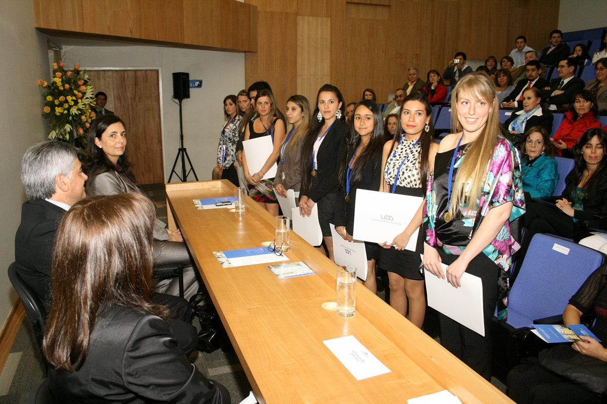 Nutricionistas reciben su Diploma