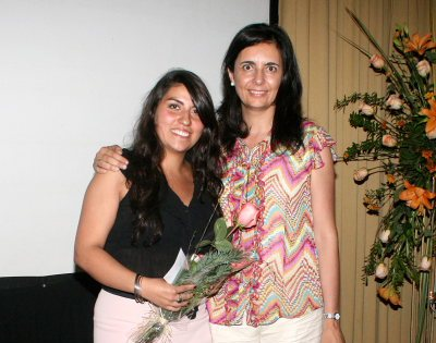Dra. Oriana varas y Florencia Jofré