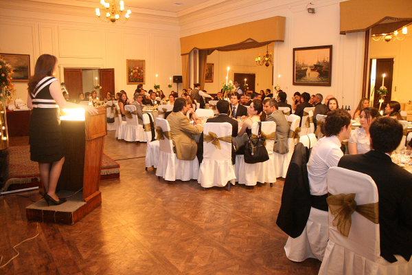 Cena Egresados Club Concepción