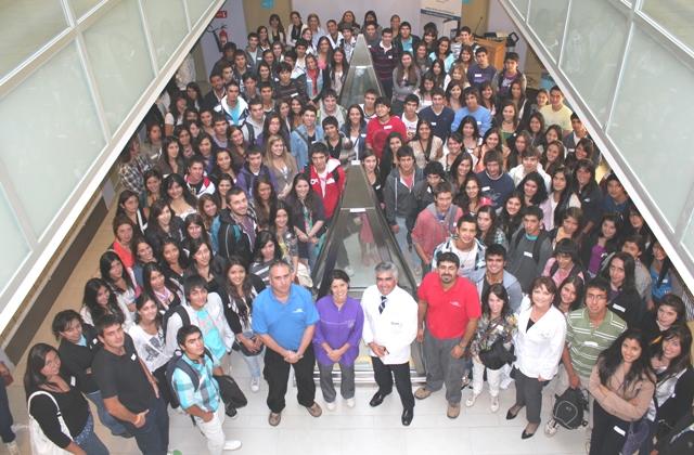 Bienvenida alumnos nuevos 2011