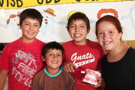 Niños de Curarrehue
