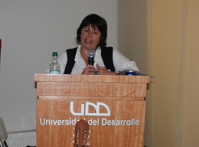 Mª Cecilia Isla, Directora Fonoaudiología