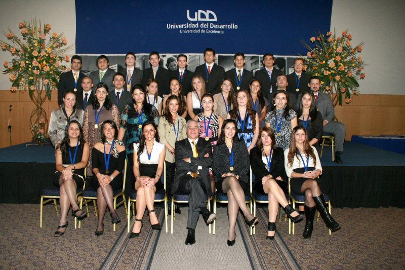 Kinesiólogos UDD, Generación 2011