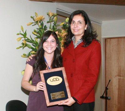 Paulina Durán, Premio UDD