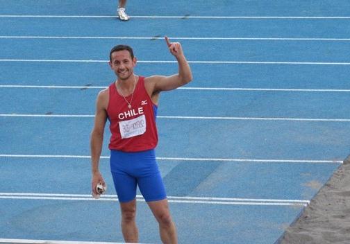 Alumno de Kinesiología obtuvo 2° lugar en mundial de atletismo