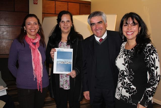 Investigadoras, Dir. Biblioteca y Decano Odontología