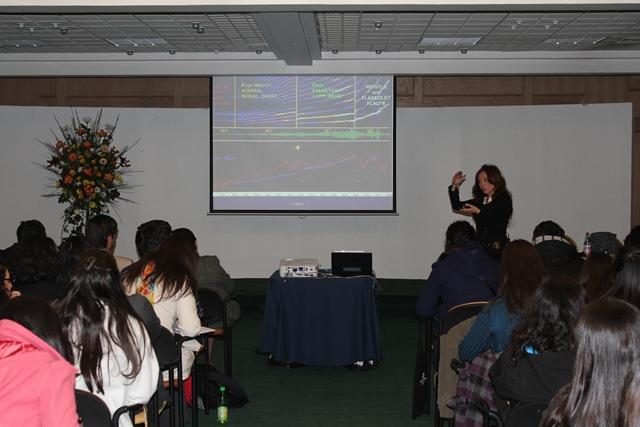 Patricia Farías, Doctora en fonoaudiología