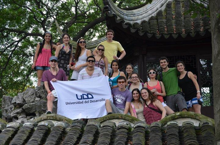 Alumnos UDD en China