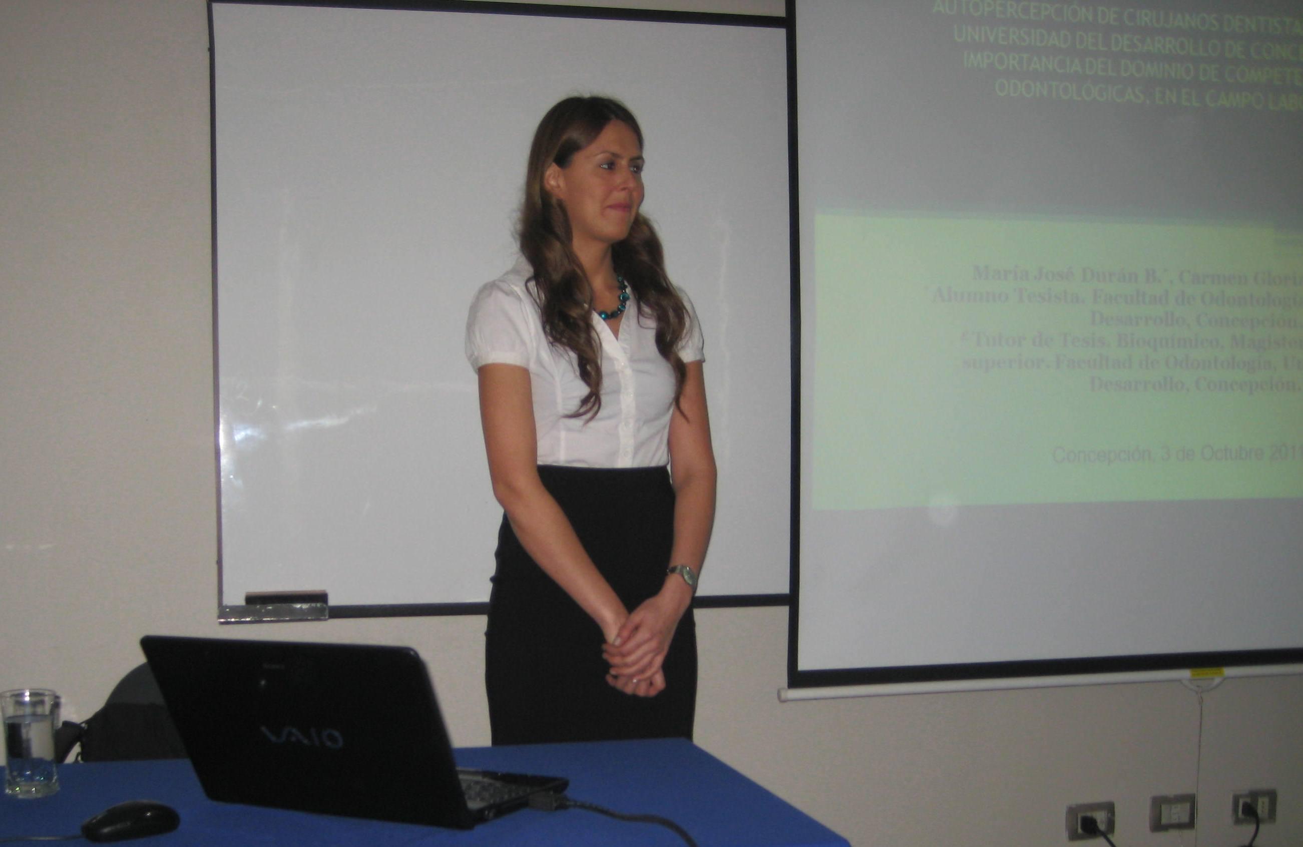 Alumna Tesista María José Durán