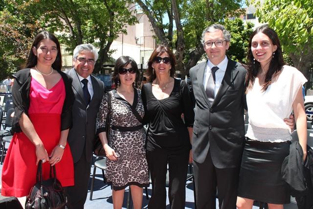 Dr. Luis Vicentela y Familia de E. Silva