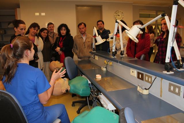Recorrido por Facultad de Odontología, Pre-Clínico