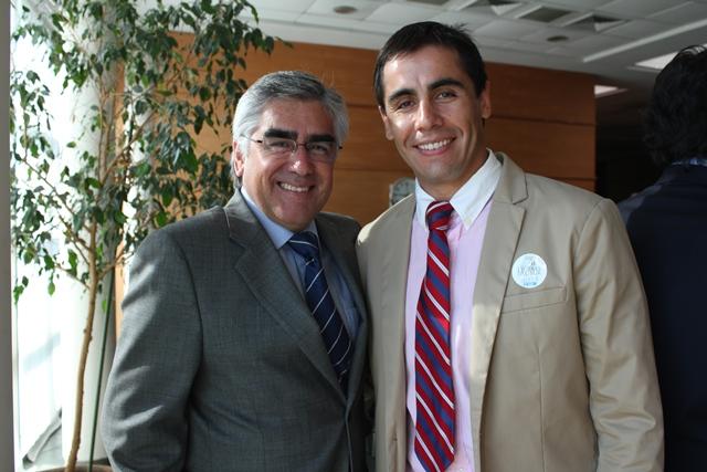 Dr. Luis Vicentela y Dr. Rodrigo Haristoy
