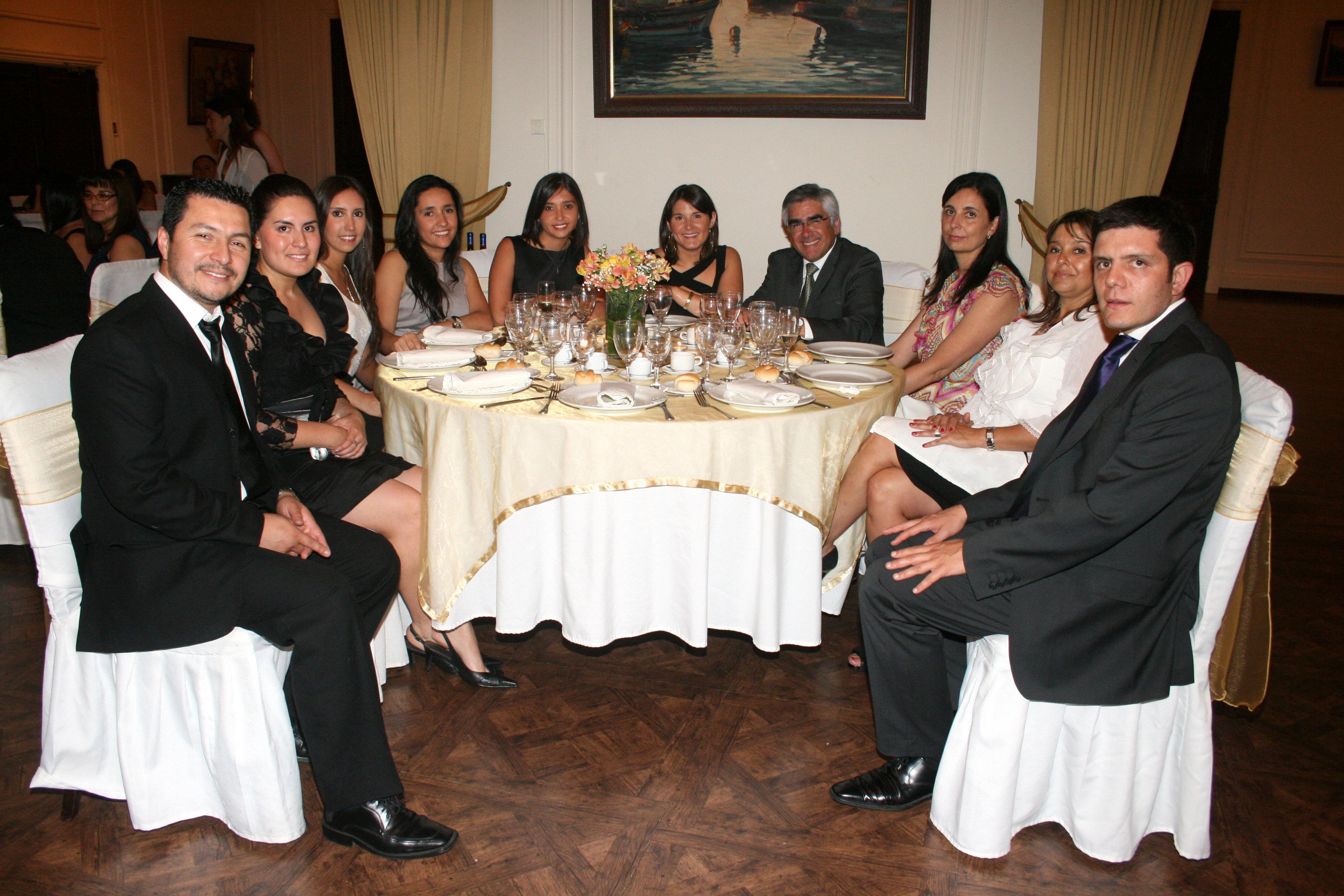 Cena Egresados Odontología 2011