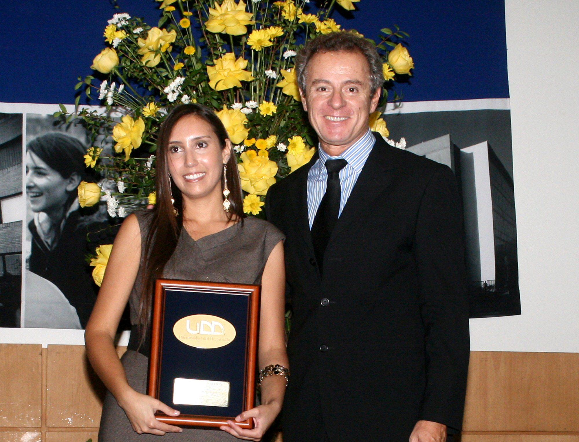 Premio UDD y Rector UDD