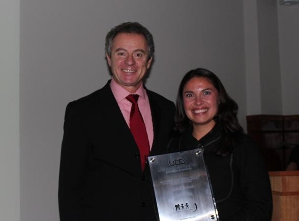 Federico Valdés y Paola Bezama