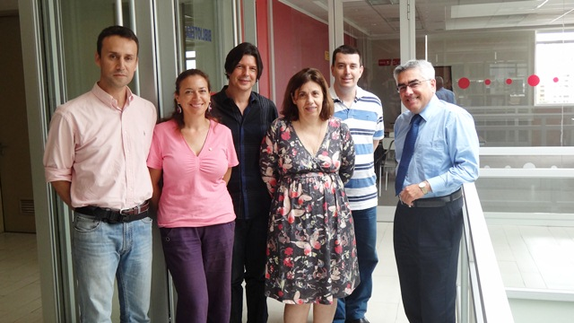 Investigadores brasileños visitan Facultad