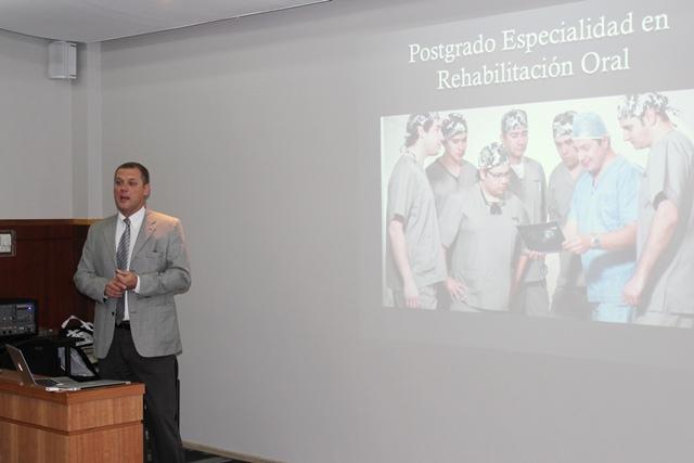 Internos Odontología conocen formación continua