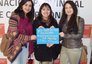 Alumna lidera movimiento por la inclusión social