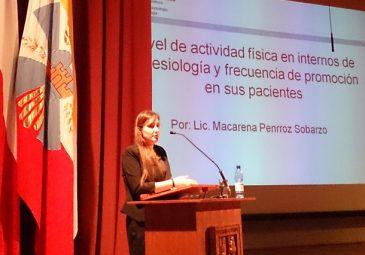 Alumna presentó tesis en Congreso en Valdivia