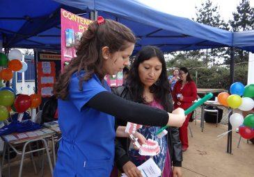 Internas participan en Feria en Cocholgüe