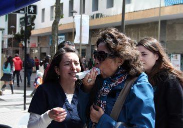 Alumnos y docentes participan en actividad para prevenir la EPOC