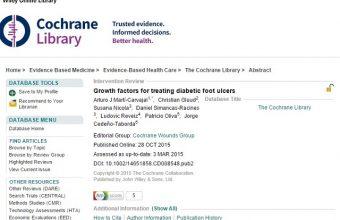 Facultad de Ciencias de la Salud publica primera Revisión Sistemática Cochrane