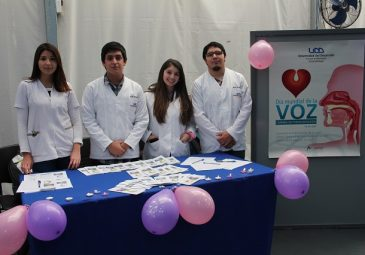 Futuros fonoaudiólogos celebraron Día de la Voz