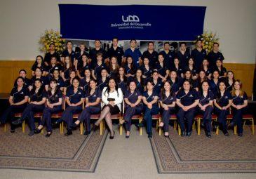 Quinta generación de Enfermeros UDD