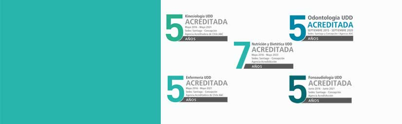 Exitosa acreditaciones de Carreras de la Salud