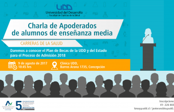 Charla Apoderados de alumnos de enseñanza media-Becas 2018